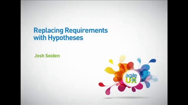Replacing Requirements with Hypotheses