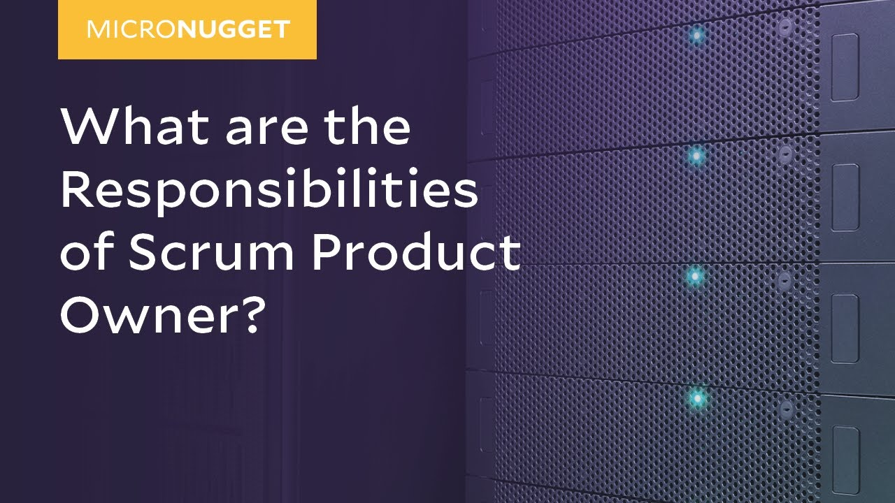 The Scrum Product Owner